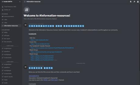InsideEarth Discord Server